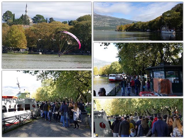 Γιάννενα: Αυξημένη η τουριστική κίνηση το τριήμερο...Εκατοντάδες επισκέπτες στο Νησί της Παμβώτιδας