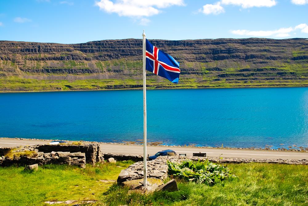 El significado de los colores de la bandera de islandia
