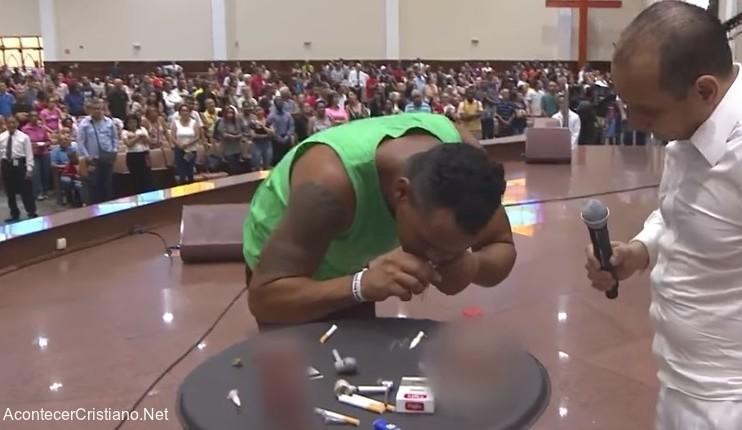 Iglesia Pare de Sufrir liberación de adictos