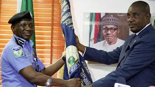 Solomon Arase hands over to Ibrahim Idris