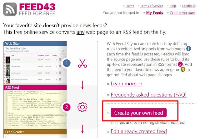 feed43-custom-feed-1-PTT 停止 RSS 功能後,如何繼續訂閱個版文章﹍FEED43 自製 RSS 教學