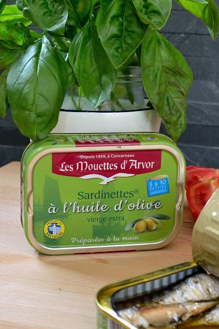 sardinettes à l'huile d'olive Les Mouettes d'Arvor