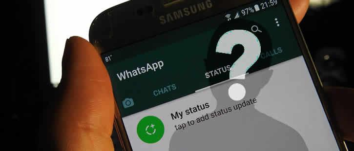 Ver status do WhatsApp escondido