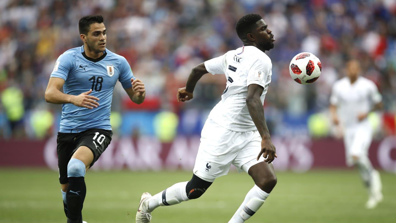 França 2 x 0 Uruguai