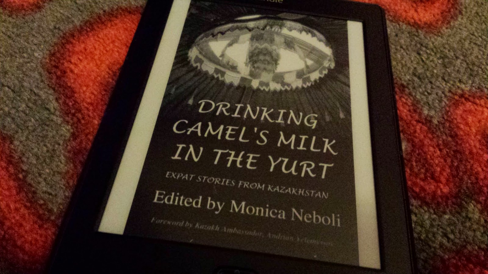 Drinking goat's milk in a yurt, Edited by Monica Neboli