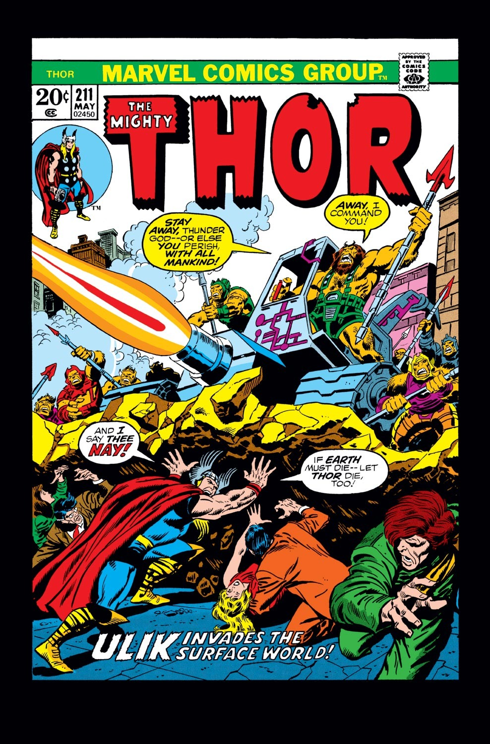 Thor (1966) 211 Page 1