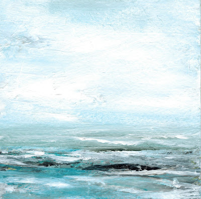 Calming Waves - Day 21 of the 30 Paintings in 30 Days Challenge