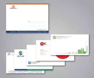 Cấu trúc thiết kế phong bì thư