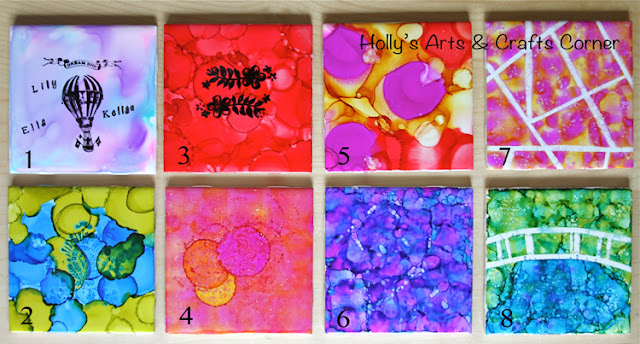 Holly S Arts And Crafts Corner Craft Project Alcohol Ink