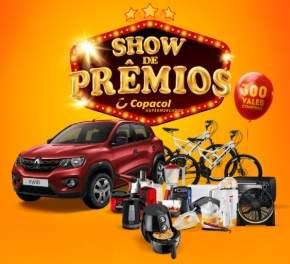 Promoção Copacol Supermercados Show de Prêmios - 55 Anos