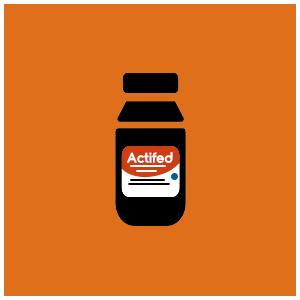 Actifed Syrup, Meringankan Pilek & Alergi Pernafasan Hidung (Kuning)