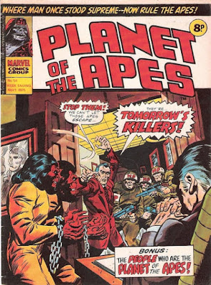 Marvel UK, Planet of the Apes #54