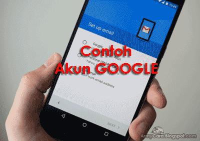Contoh Cara Membuat Akun Google - Gmail Daftar Email Baru