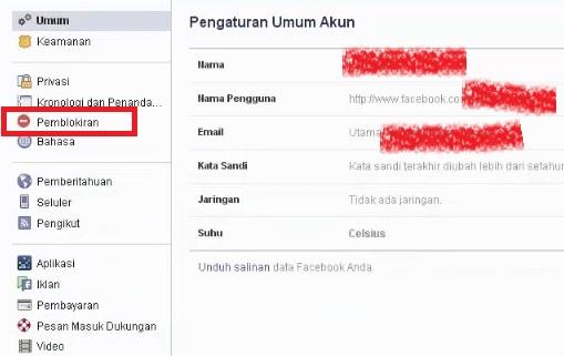 Cara Memblokir Akun Mantan Pacar di Facebook