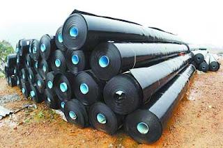 Jual Geomembrane HDPE Karpet Tambak Talang