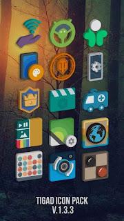 Tigad Pro Icon Pack v1.9.9