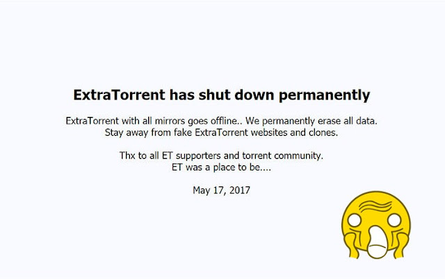 Good Bye ExtraTorrent