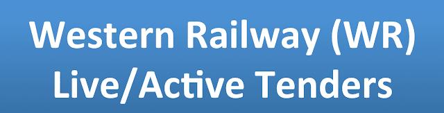 Western Railway (WR) Live/Active Tenders