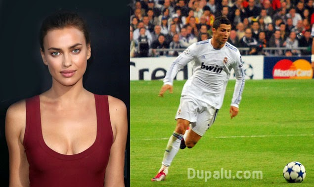 Cristiano Ronaldo e Irina Shayk, su novia hasta enero de 2015.