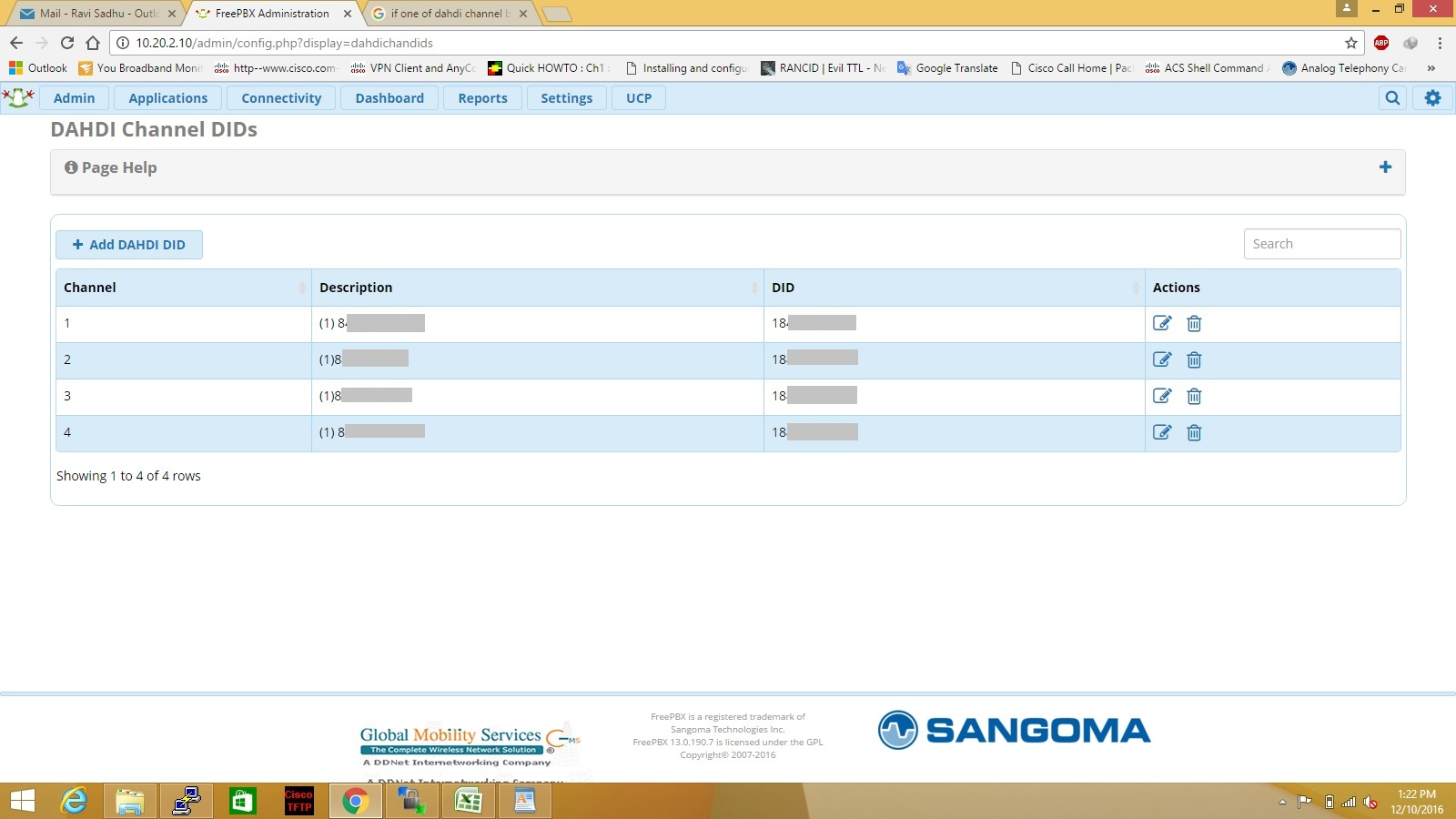 Cisco Networking: POTS lines configuration in FreePBX