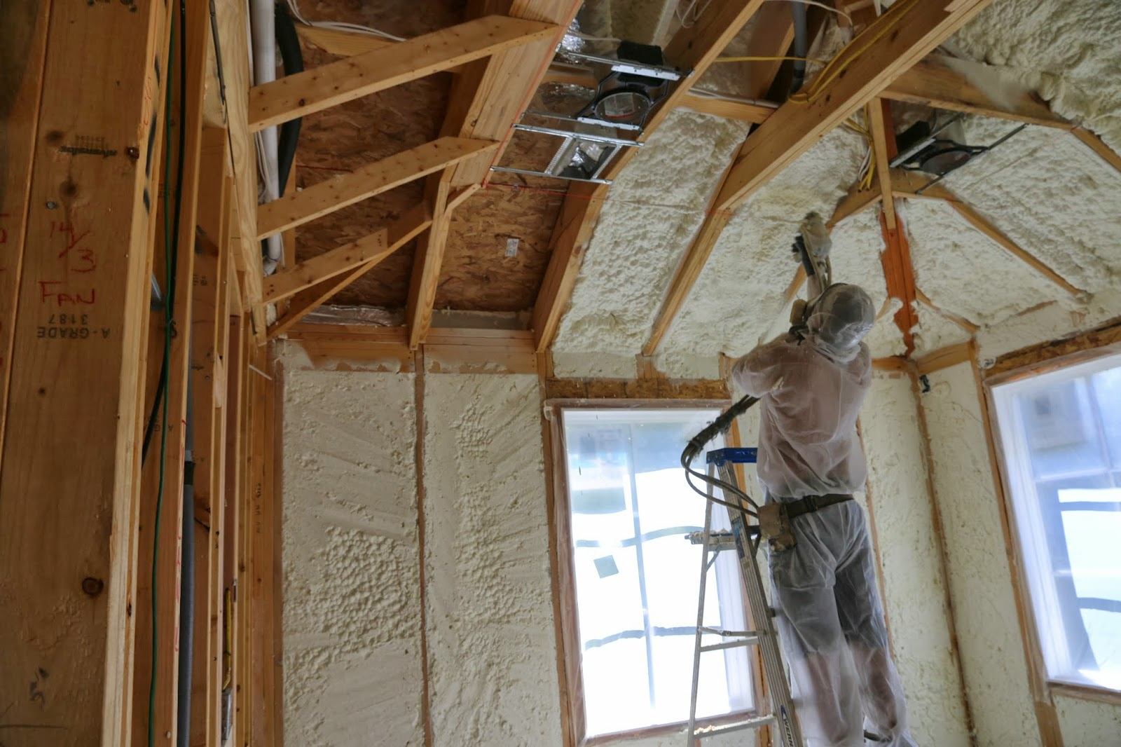 How To Use Spray Foam To Meet New Energy Codes In Warm