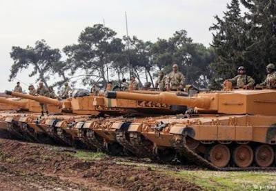 Erdogan ataca OTAN por não apoiar Turquia na Síria