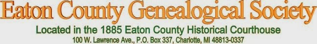 Eaton County Genealogical Society - Long Term Planning