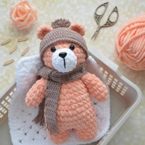Plush Bear Amigurumi - Free Pattern
