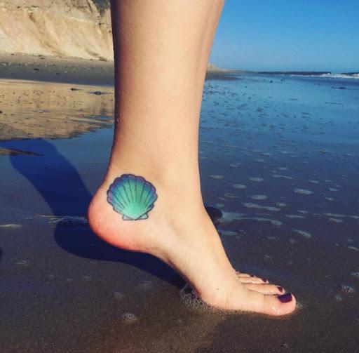 Esse turquesa seashell