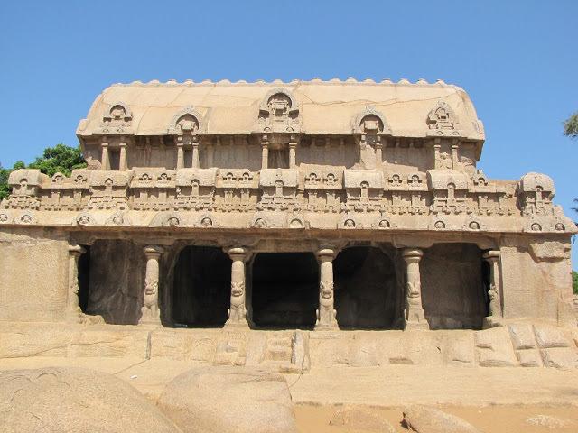Mahabalipuram Monolithic Stone Chariots - Bhima Ratha
