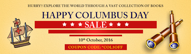 Columbus Day Deals on Books