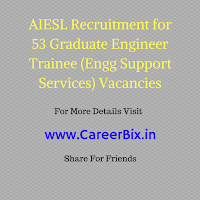 AIESL Recruitment for 53 Graduate Engineer Trainee (Engg Support Services) Vacancies