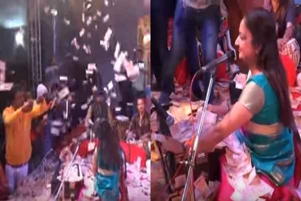 gujarat-news-rs-40-lakh-showered-on-gujarati-folk-singers