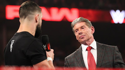 Finn Balor  Raw Vince McMahon Brock Lesnar Royal Rumble