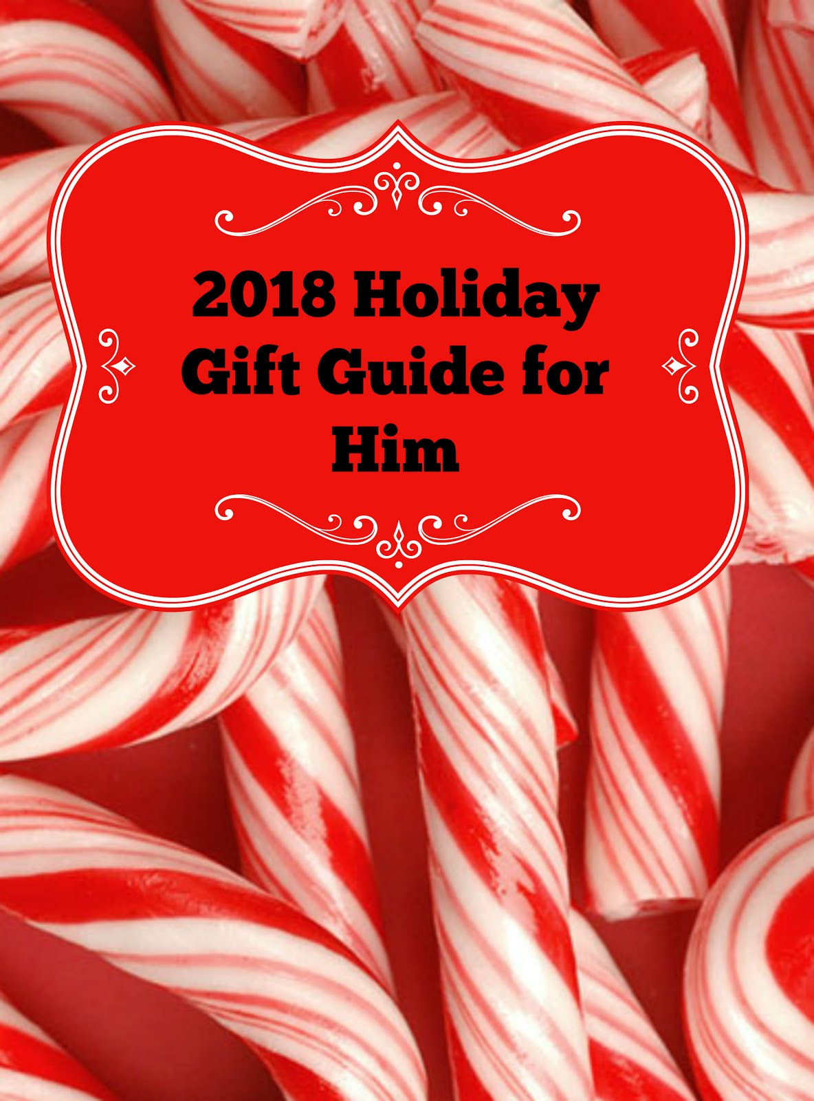 2018 Holiday Gift Guide for Him!
