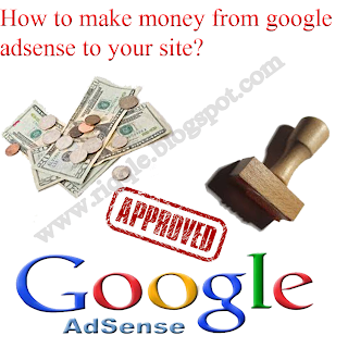 How to make money from google adsense Riqqle