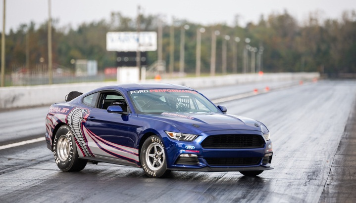 Muscle car collection 2016 mustang jet cobra drag race for Jet cars review