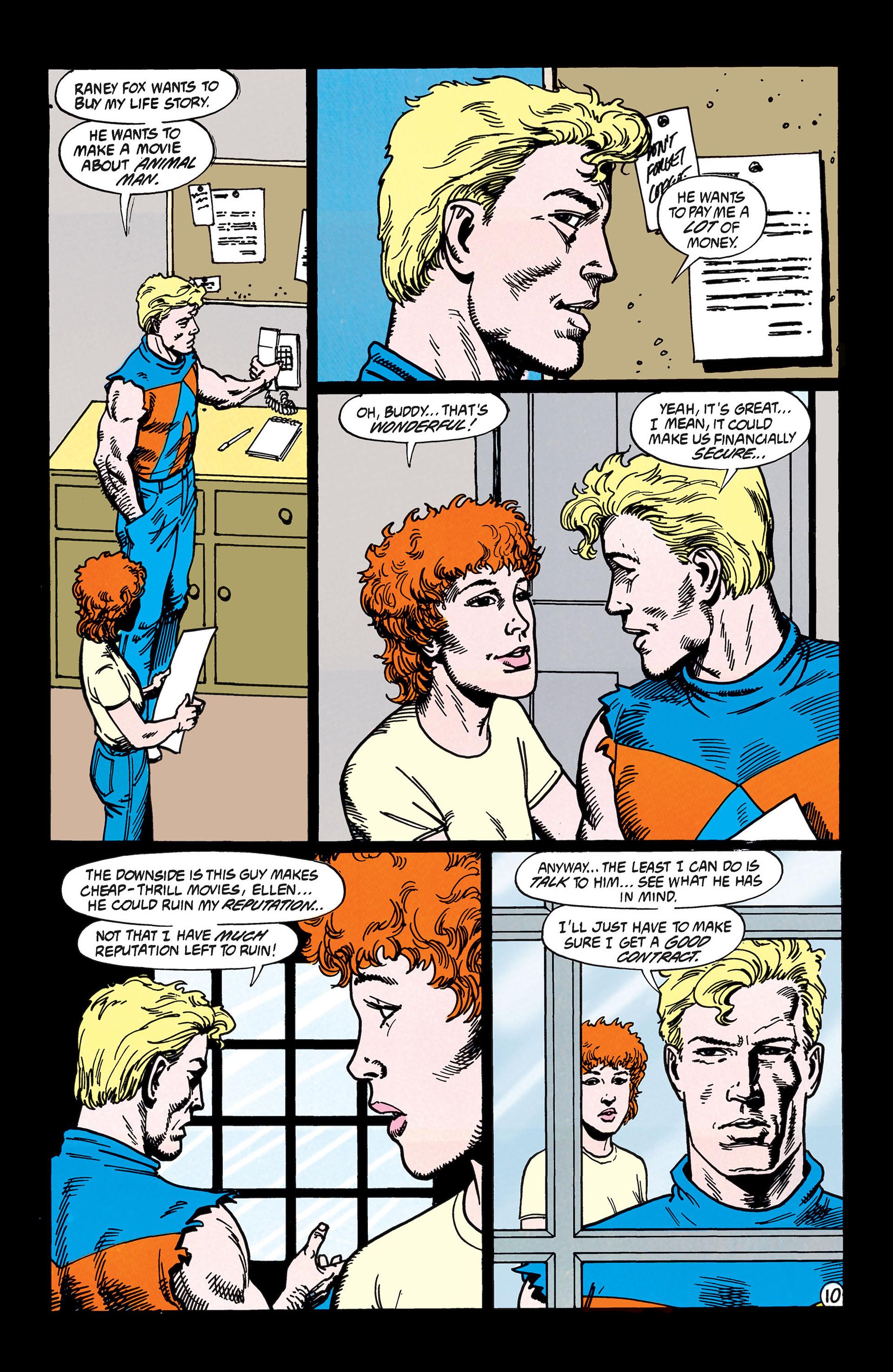 Read online Animal Man (1988) comic -  Issue #45 - 11