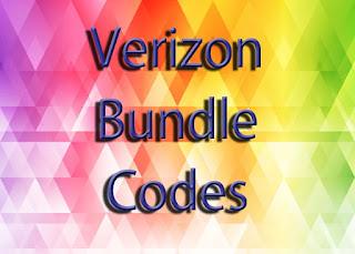 verizon bundle code