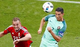 ronaldo bawa portugal ke 16 besar piala eropa