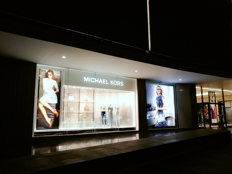 Michael Kors branch at Bonifacio Central Square Mall, Bonifacio Global City Philippines