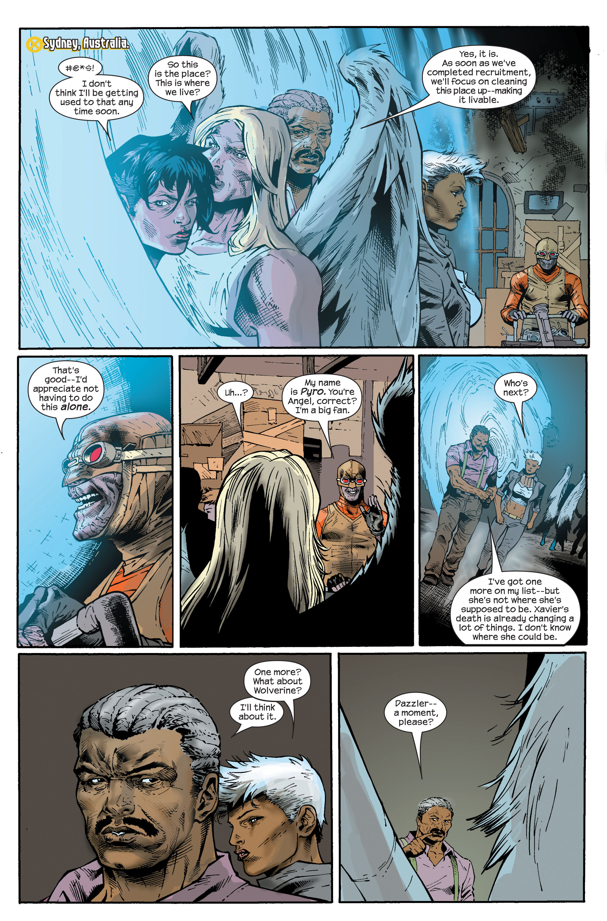 Read online Ultimate X-Men comic -  Issue #83 - 17