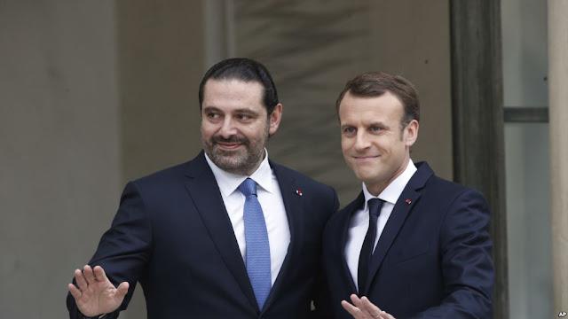 O ex-primeiro-ministro libanês, Saad Hariri, chega à Paris no sábado (18).