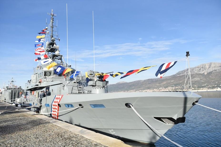 Omiš: новий хорватський патрульний корабель