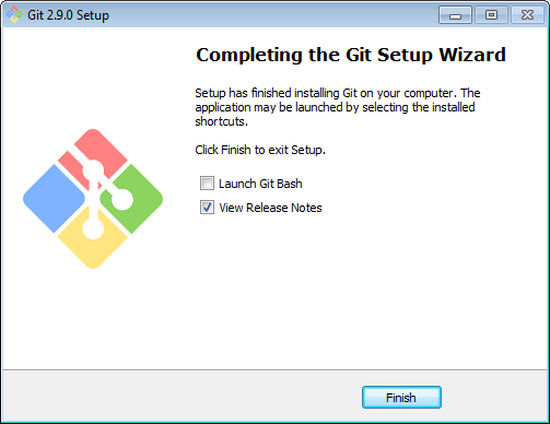 Git GUI - Installation sous Windows