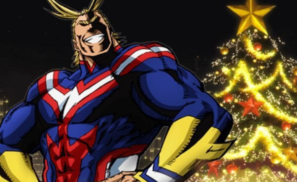 This 'My Hero Academia' Christmas Tree Is Mightier Than All Might