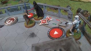 Vader is killed by Luke's lightsaber!