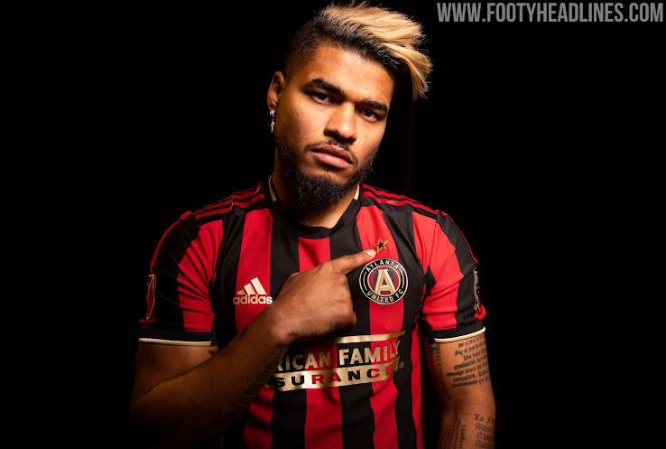 sale retailer 6ed25 483e0 Atlanta United 2019 Home Kit Released - Footy Headlines