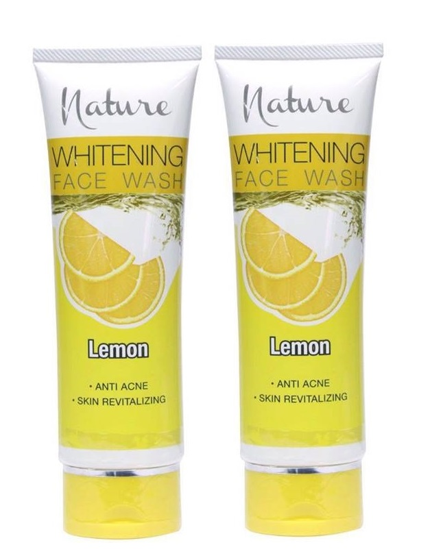 Pack Of 2 - Nature Lemon Face Wash 100 ml