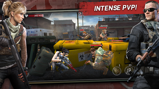 Download Game Left to Survive: PvP Zombie Shooter MOD cho Android